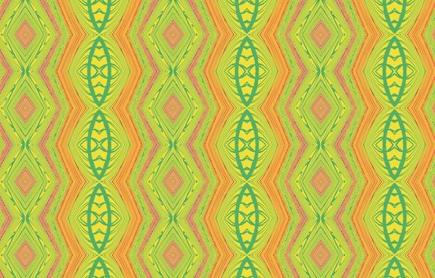 Motif abstrait coloré pour le textile et le design