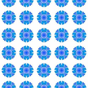 Motif aquarelle chevron. design d'été chic bleu grand boho. impression cool prête pour le textile, tissu de maillot de bain, papier peint, emballage. bordure aquarelle chevron géométrique vert.