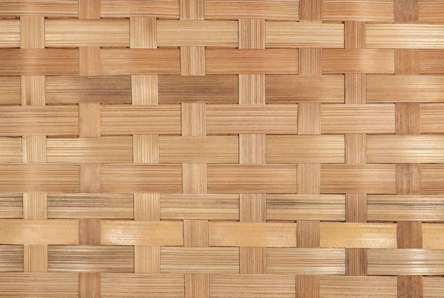 Motif bambou en osier
