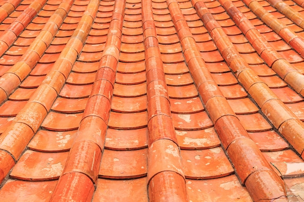 Motif de brique de toit de style chinois