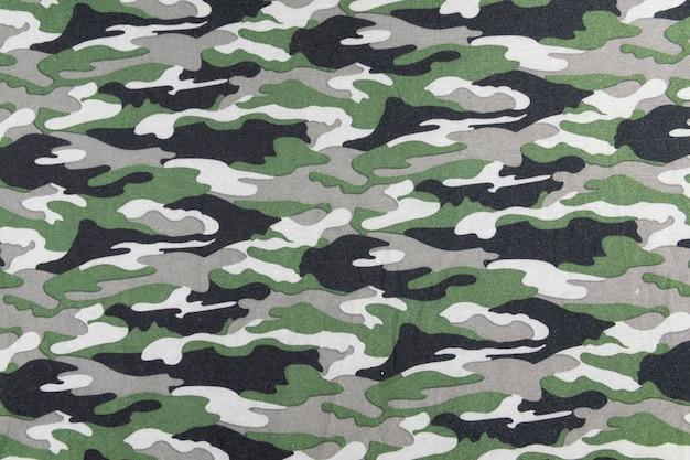 Motif de camouflage sur le tissu