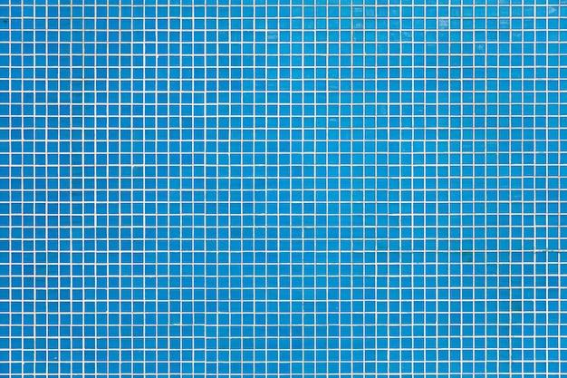 Motif carré de carreaux bleus