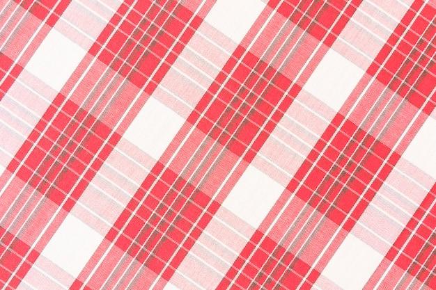 Motif à carreaux rouge sans couture