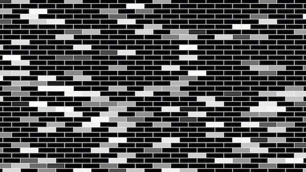 Motif de carrés blancs, abstrait. style géométrique dynamique élégant et luxueux pour les entreprises, illustration 3d