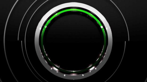 Motif de cercles colorés, abstrait. style néon dynamique élégant et luxueux pour les entreprises, illustration 3d