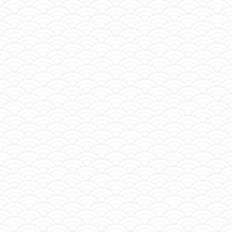 Motif de cercles sans couture blanc asiatique