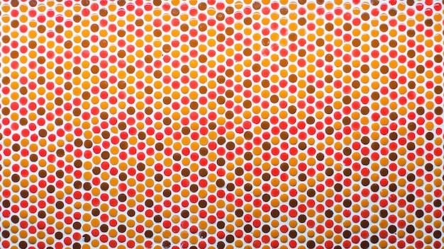 Motif coloré mosaïque