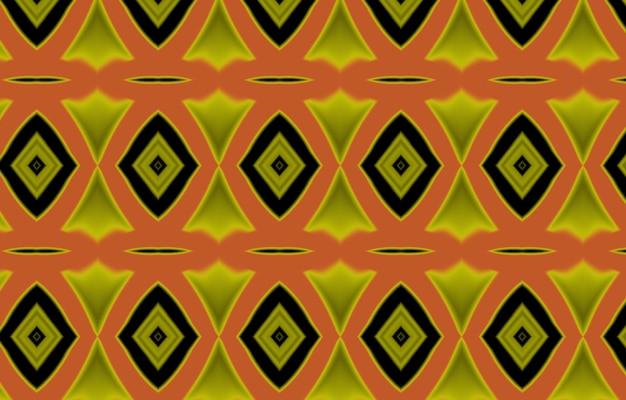 Motif coloré pour les carreaux et les arrière-plans textiles motif géométrique coloré tribalmotif ikat