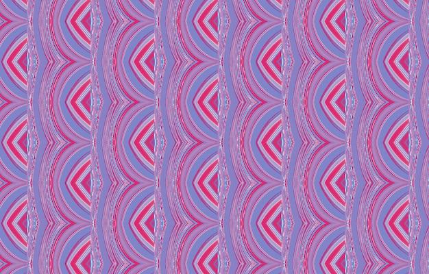 Motif coloré pour les carreaux et les arrière-plans textiles texture avec des lignes de courbes ondulées dynamique lumineuse
