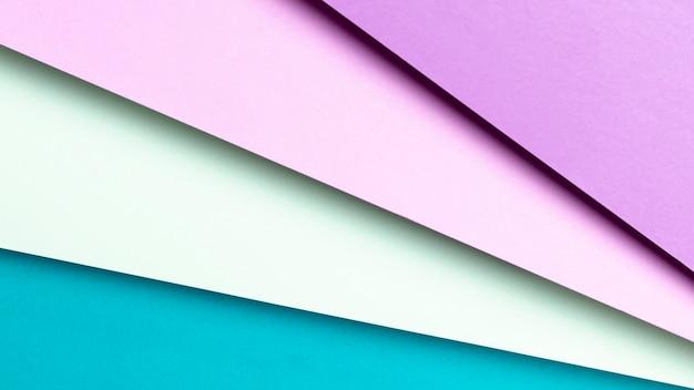 Motif composé de couleurs froides