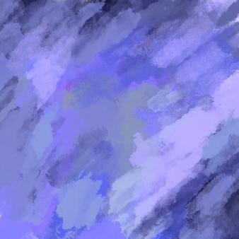Motif de coups de pinceau aléatoires violets