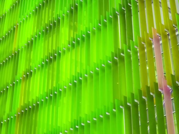 Motif en feuille de plastique acrylique intérieur et extérieur extérieur ont un design coloré de concept