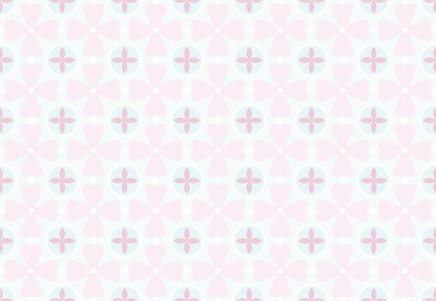 Motif de fleurs pour les œuvres d'art