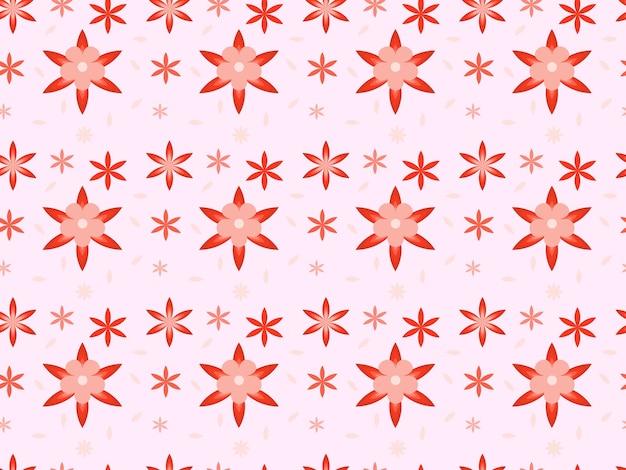 Motif floral vue de dessus