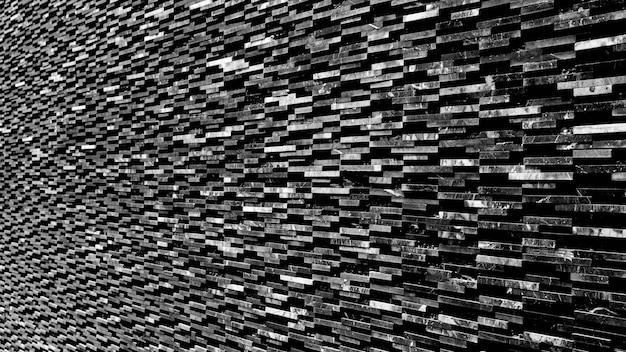 Motif de fond de mur de marbre noir décoratif