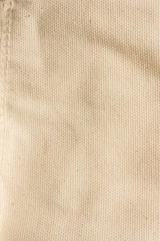 Motif de fond de surface en tissu ton crème