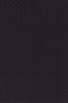 Motif de fond textile en tissu noir