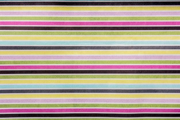 Motif géométrique de rayures droites horizontales de différentes couleurs