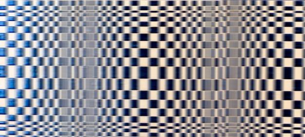 Motif de grille noir et blanc