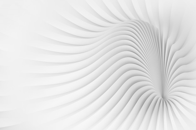 Motif à l'image d'une structure de corps ondulée
