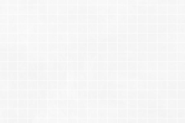 Motif de ligne de grille blanche sur fond gris