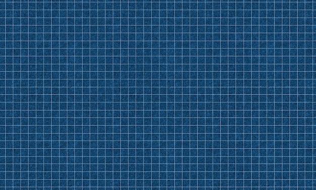 Motif de ligne de grille avec fond de texture bleu