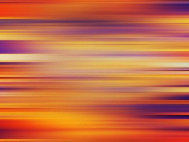 Motif de lignes horizontales colorées, fond dégradé abstrait. effet de mouvement doux et flou. illustration de style créatif, luxueux et élégant