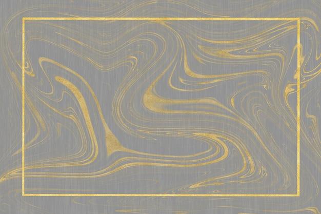 Motif de marbre blanc doré et carrelage mural de luxe et couleur gris au sol