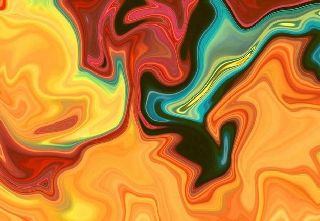 Motif de marbre coloré, abstrait. effet marbré doux et flou. illustration de style luxueux et élégant