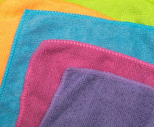 Motif microfibre multicolore