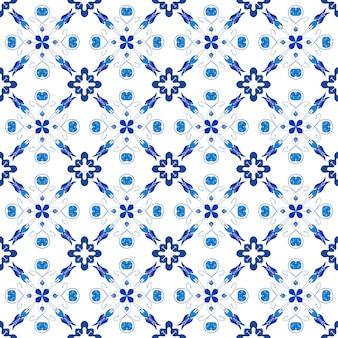 Motif de mosaïque abstraite bleu transparent pour le fond
