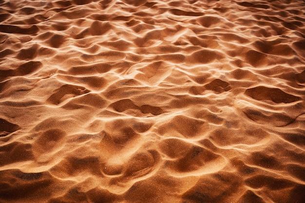 Motif naturel de sable brillant ondulé