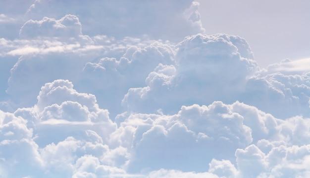 Motif nuageux