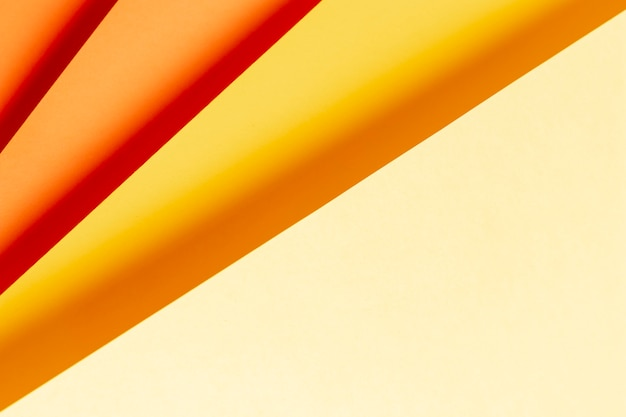 Motif de nuances de couleurs chaudes