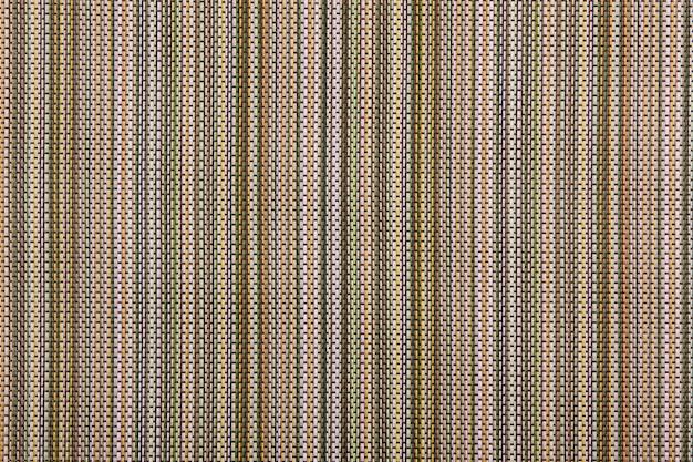 Motif en osier abstrait multicolore fond de texture de rotin gros plan extrême