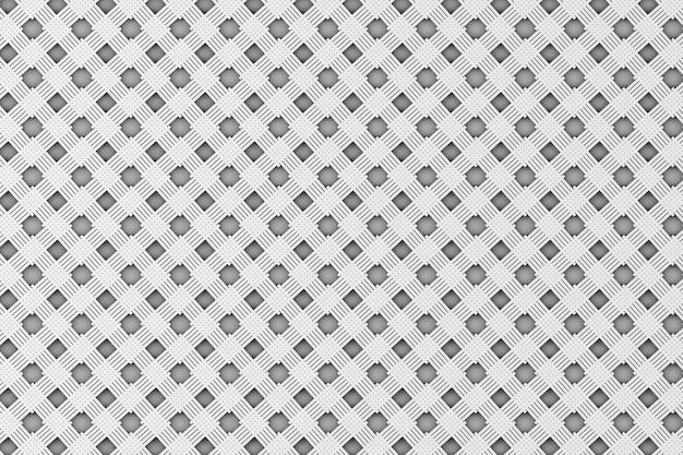 Motif en osier blanc comme arrière-plan gros plan extrême