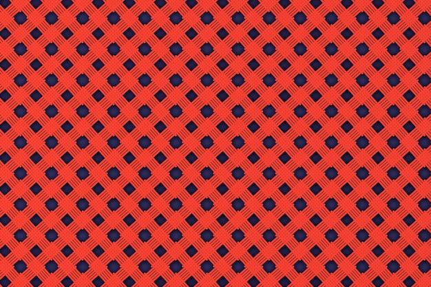 Motif en osier rouge comme arrière-plan gros plan extrême