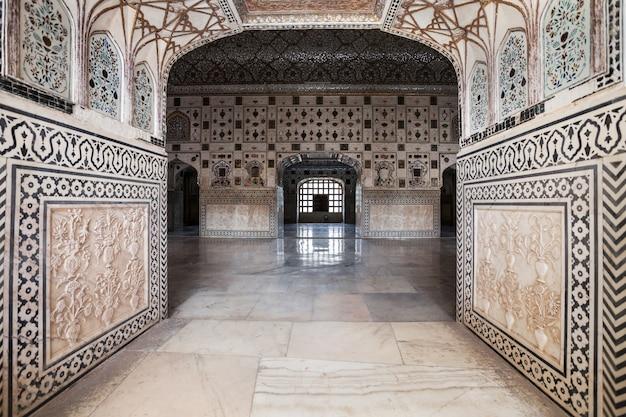 Motif sur le palais, jaipur