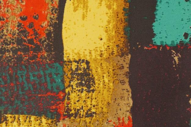 Motif peinture chaleur rouge des vêtements