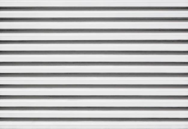 Motif de persiennes en aluminium et zinc