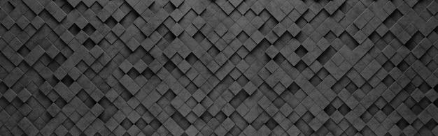 Motif de petits carrés noirs