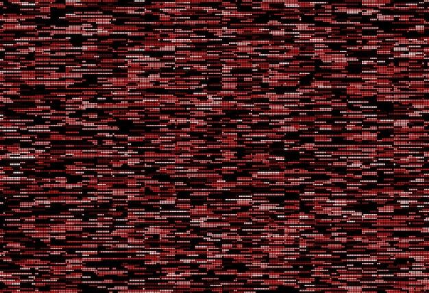 Motif pixelisé abstrait glitch grunge texture de fond pour l'impression textile