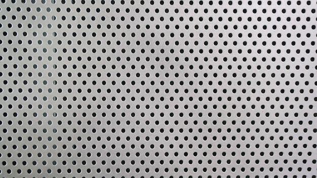 Motif à points du filtre à mailles métalliques