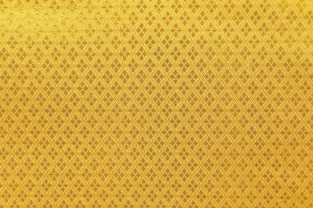 Motif à rayures sur fond de soie thaïlandaise.