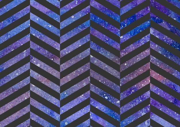 Motif de rayures sur la texture de l'espace, abstrait. illustration simple géométrique