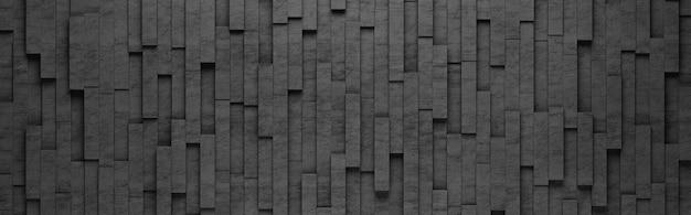 Motif de rectangles verticaux noirs