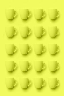 Motif de tasses