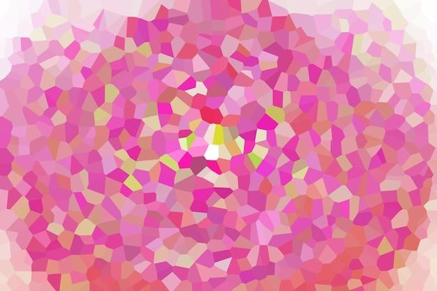 Motif de texture abstraite en mosaïque rose, fond d'écran flou doux