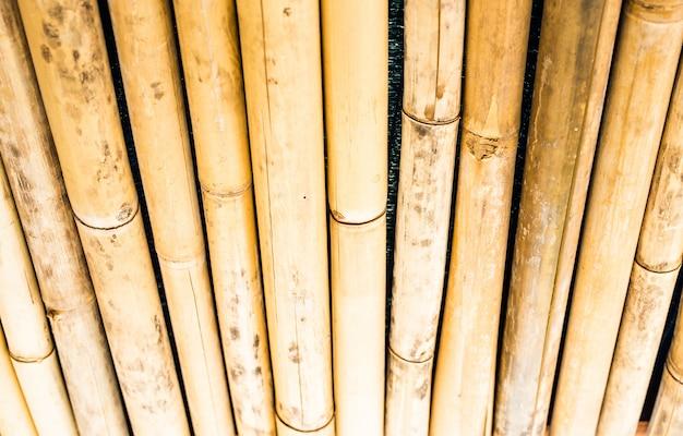 Motif De Texture De Bambou Backgroung Photo Premium