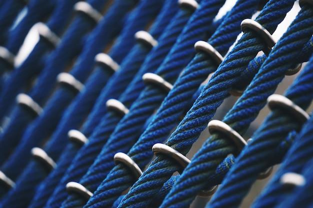 Motif de texture de corde web
